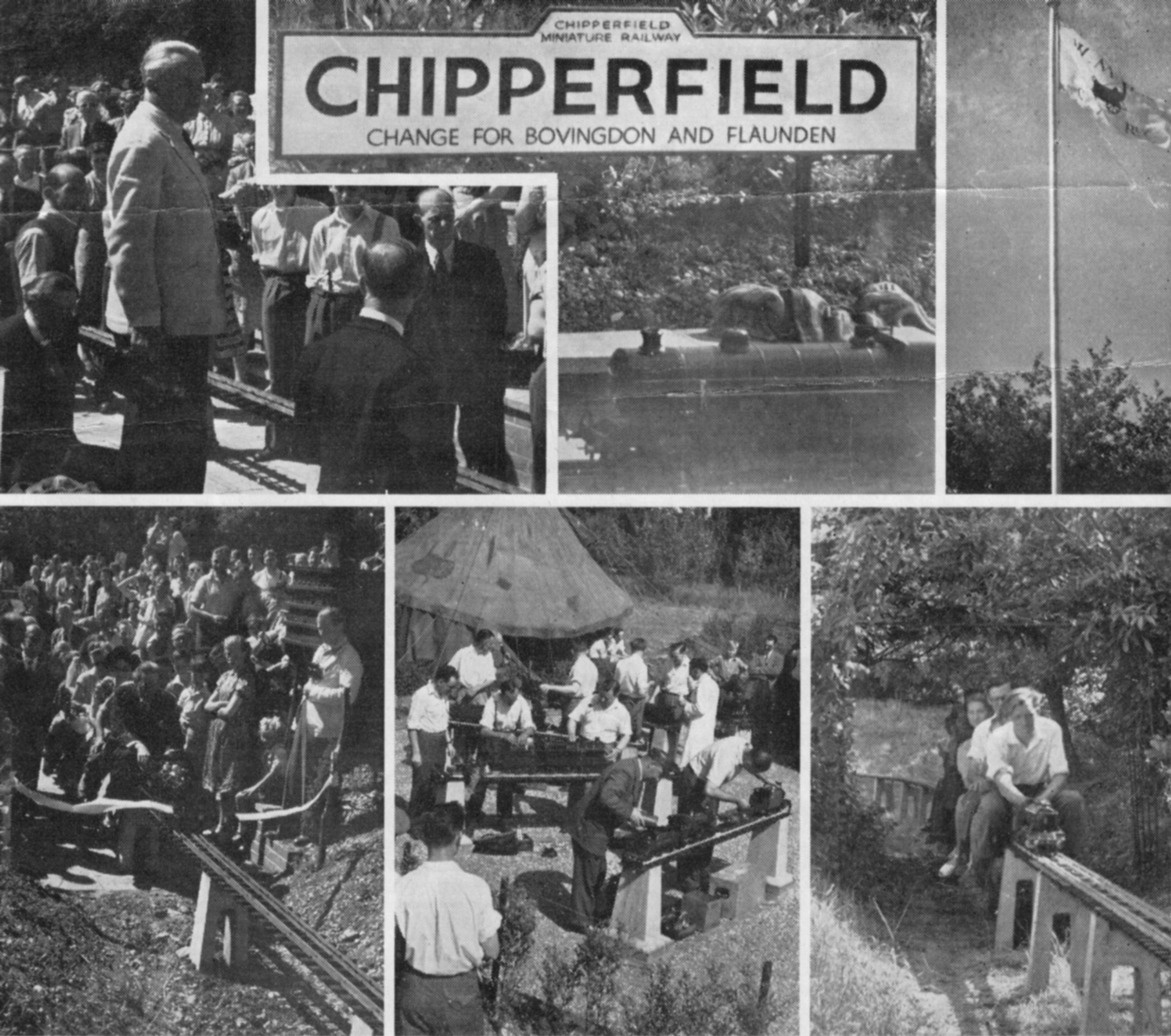 Chipperfield track opening_Mechanics mag 23 July 1949