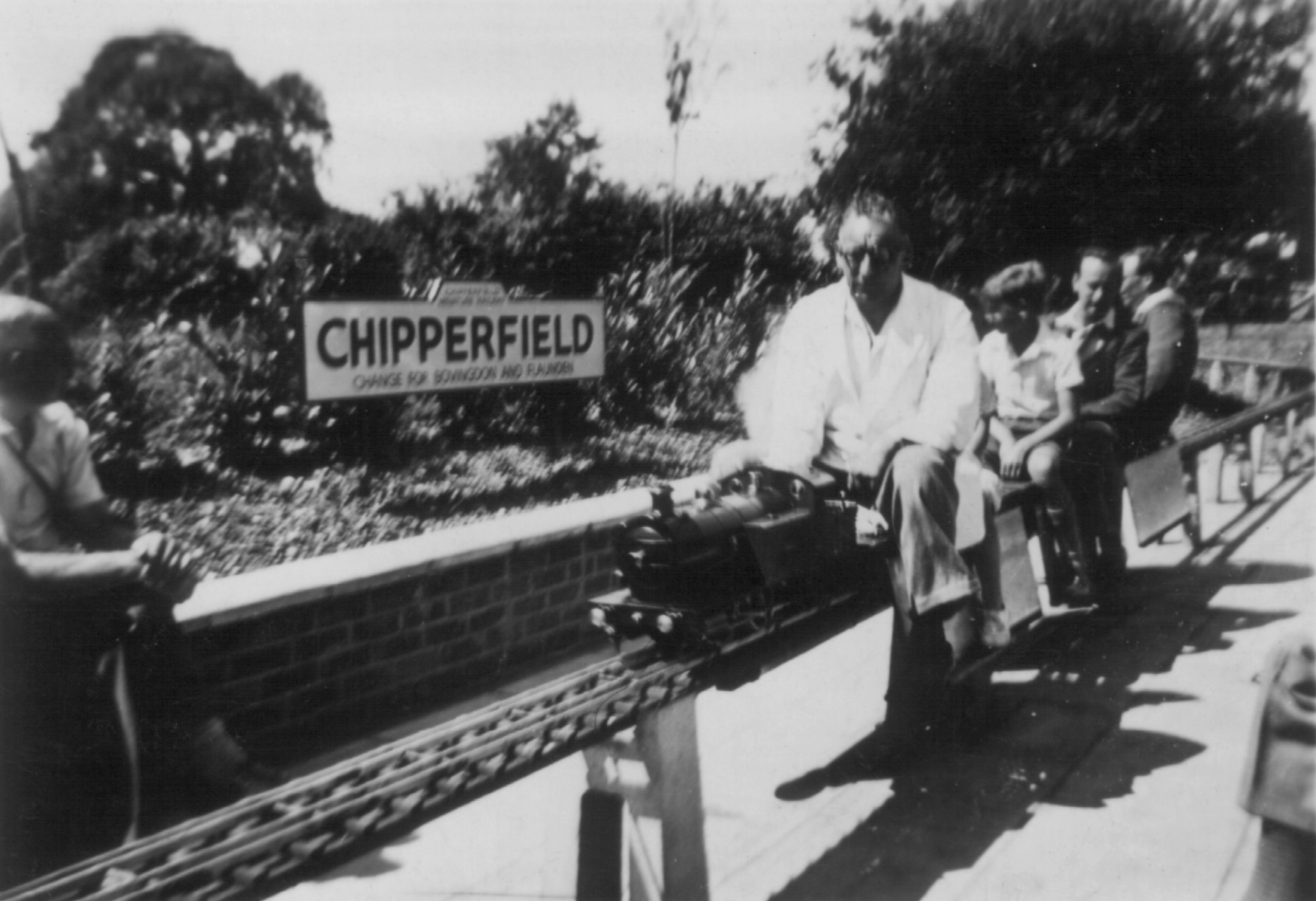 D Saunders pic_Chipperfield in early 1950s
