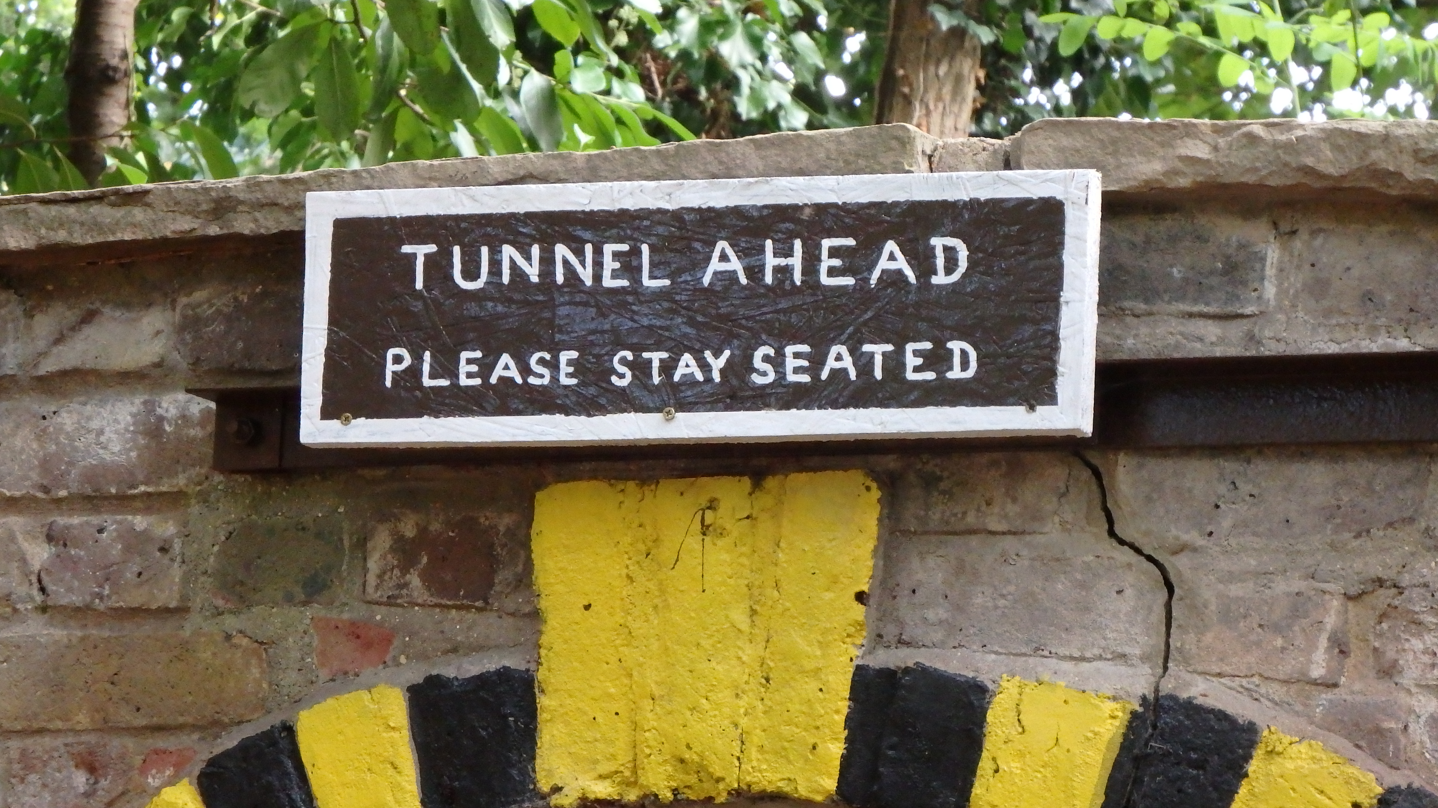 Tunnel Sign 1