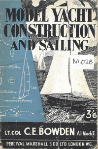 Model Yacht Construction and Sailing